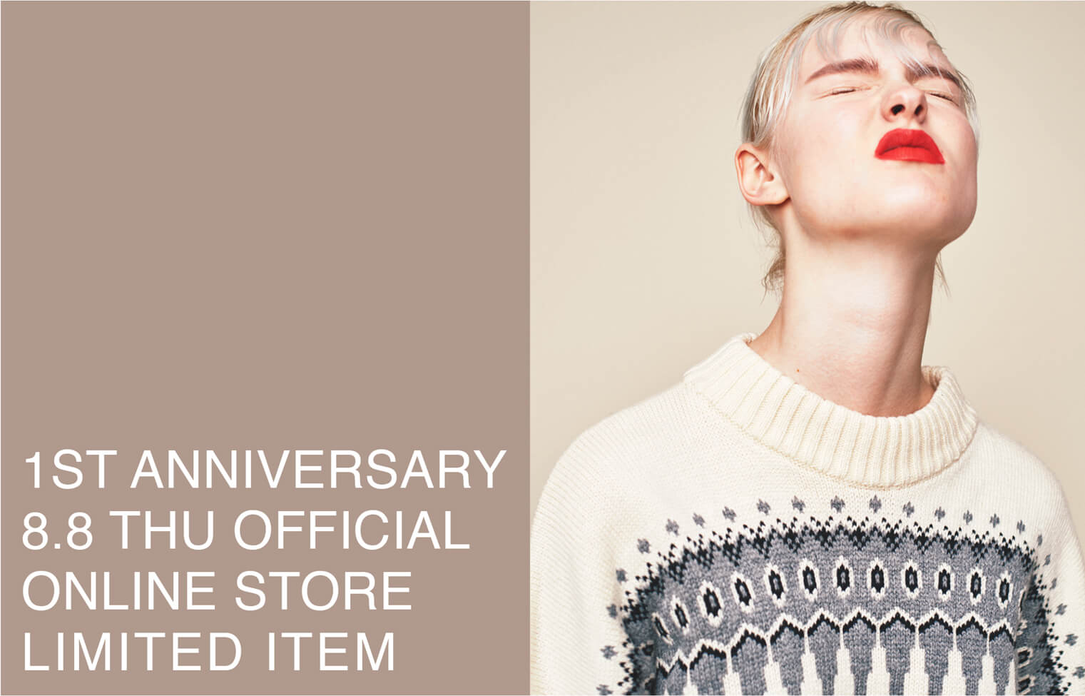 OFFICIAL ONLINE STORE 1ST ANNIVERSARY LIMITED ITEM
