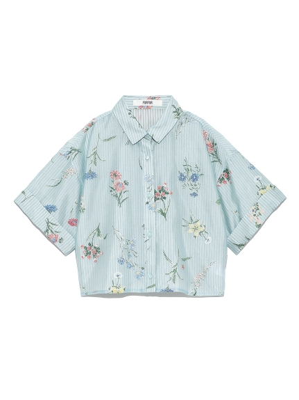 フラワーオパールシャツ