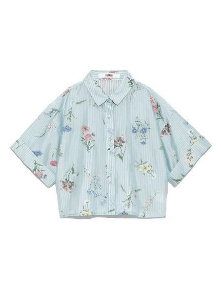 フラワーオパールシャツ(MNT-F)
