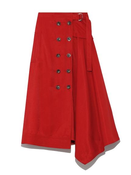 レイヤードアシメスカート(RED-F)