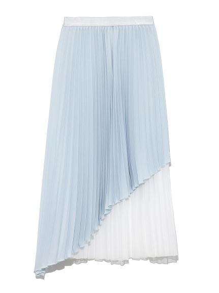 アシメプリーツスカート