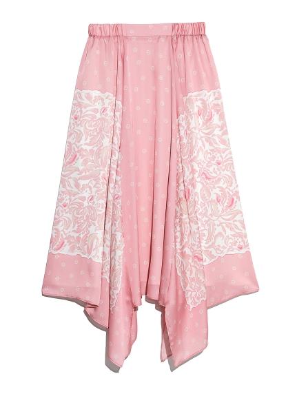 パネルプリントスカート