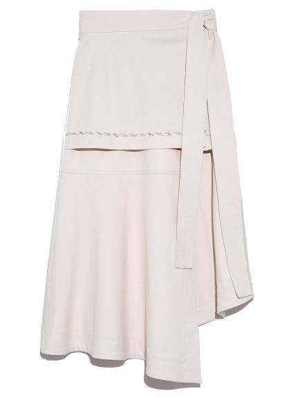 フェイク切り替えスカート(WHT-F)