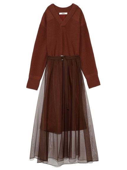 チュールスカート付きコマンドドレス(BRD-F)