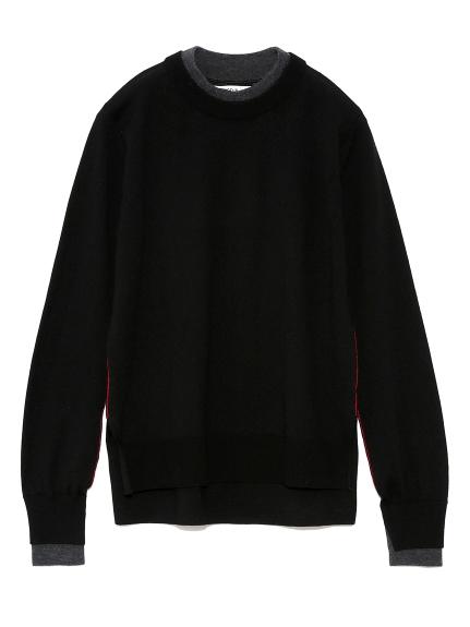 ツートーンセーター(BLK-F)