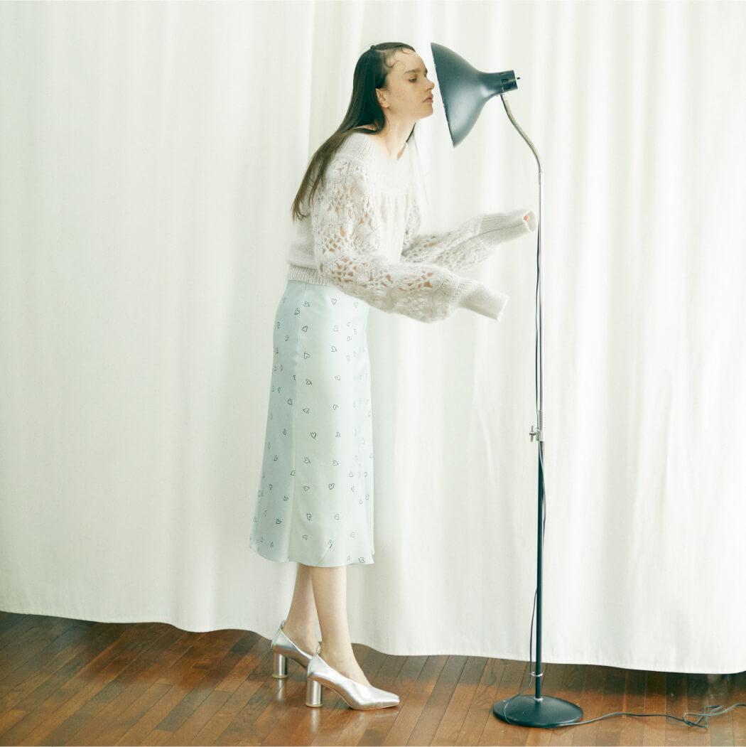 Tops 18,000 yen+tax,Skirt 18,000yen+tax,Shoes 22,000yen+tax