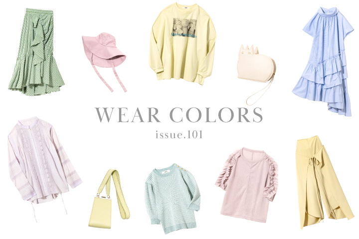 ISSUE.101 WEAR COLORS