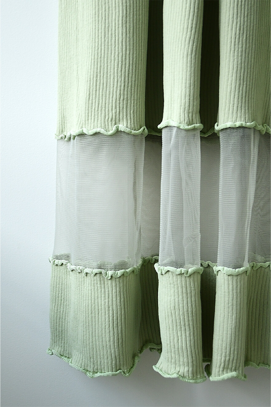 RIB LONG KNIT DRESS