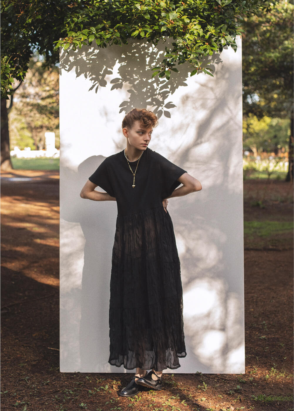 T-shirt Tiered Dress
