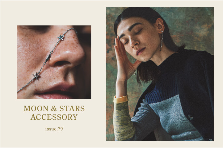 ISSUE.79 MOON & STARS ACCESSORY