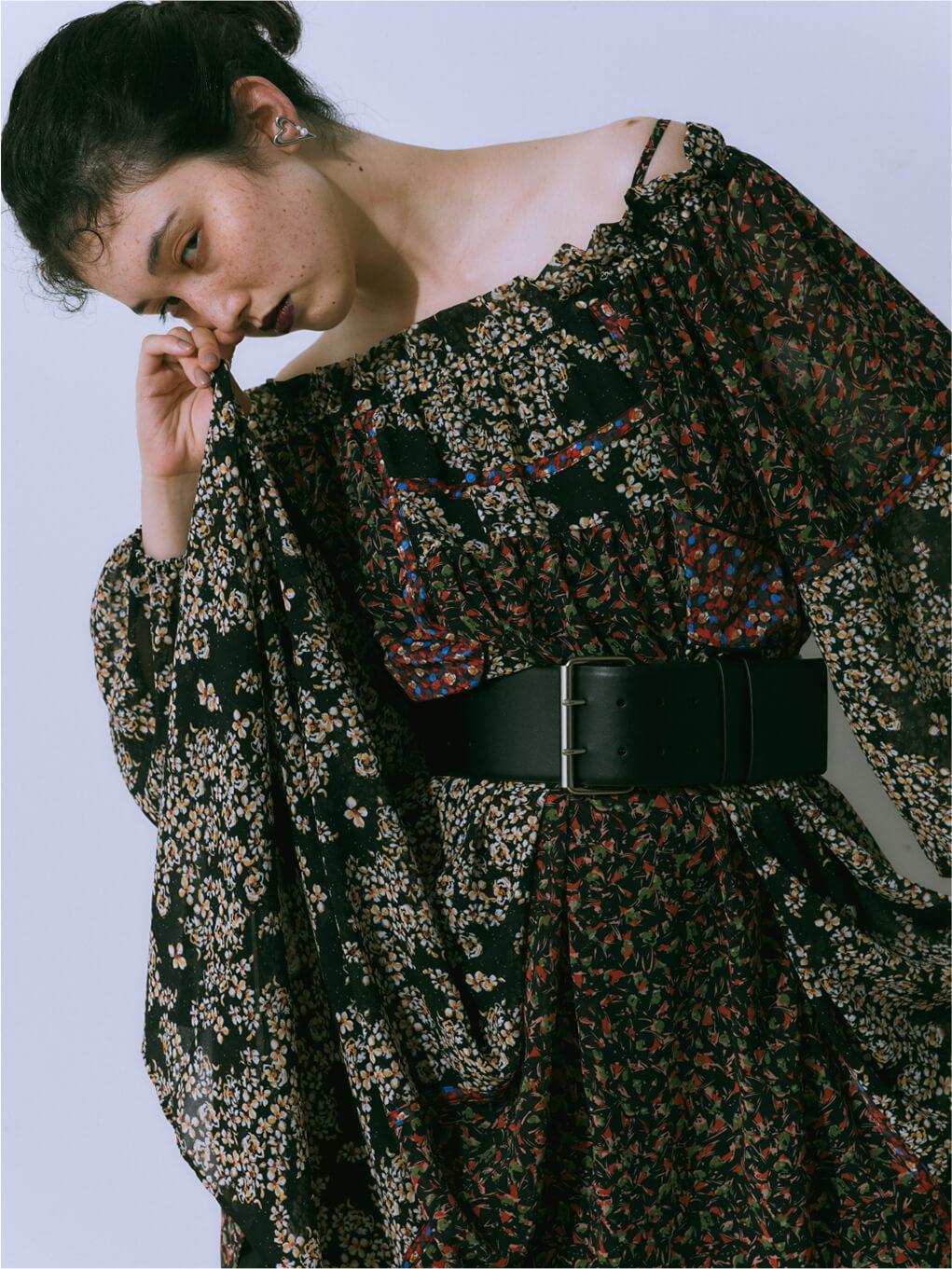 Patchwork Flower Dress