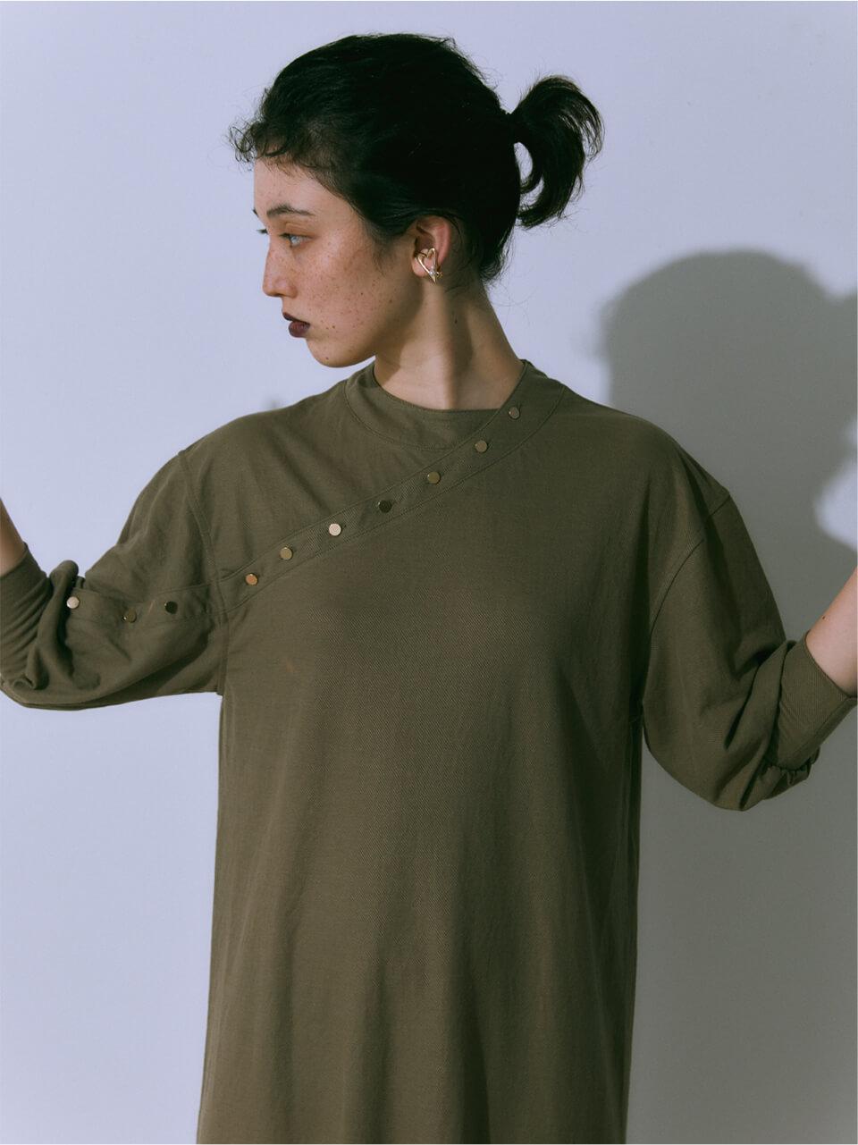 Button Cutsow Dress
