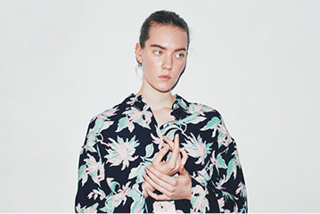 ISSUE.27 FLOWER ALOHA SHIRT